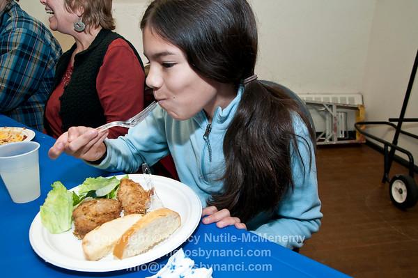 Pasta Dinner and Quicksilver Comedy Improv Night