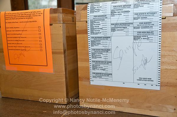 Voting in West Windsor