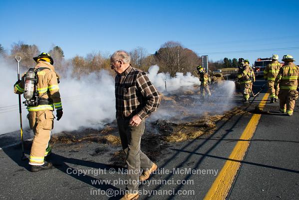 Hartland Hay Fire