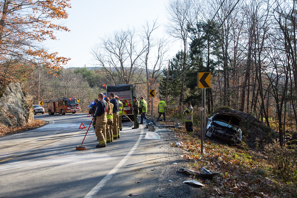 Motor Vehicle Accident and Hazmat Spill