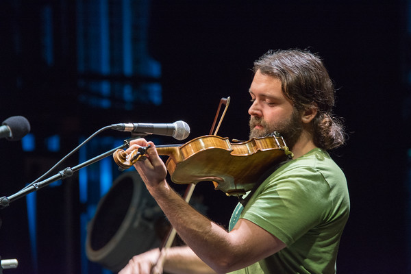 If it has strings, Patrick Ross can play it. Ross had the crowd in awe of his fiddle playing. Nancy Nutile-McMenemy photograph.