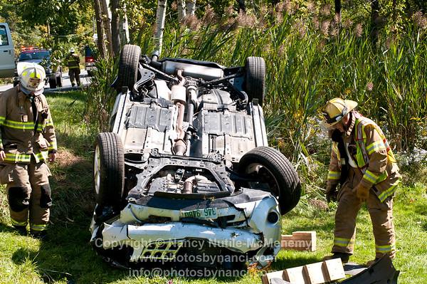 Rte 131 Car Rollover