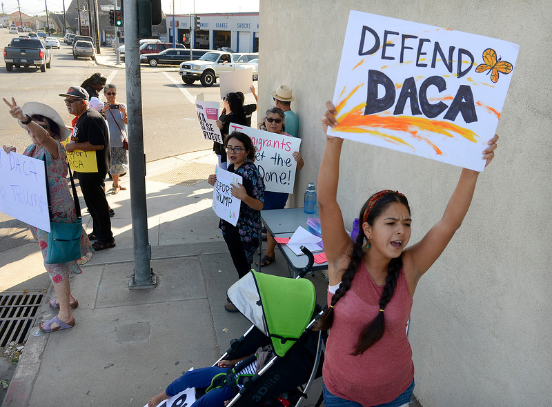 DACA Rally in Salinas