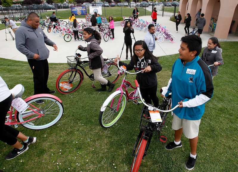 Students get New Bikes