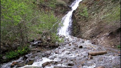 Garden Creek Falls in Casper