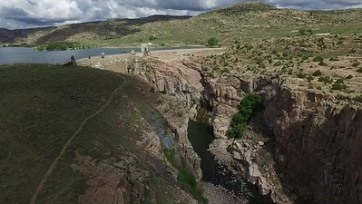 6-Flying from bridge to dam