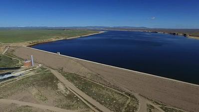 Fontenelle Dam and reservoir