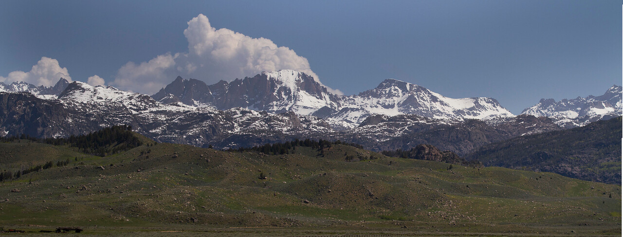 Mountaintops of Wind River Range_Panorama1