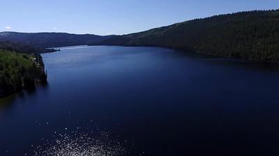Half Moon Lake in Pinedale, Wyoming