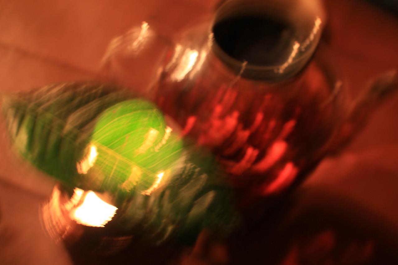 midnight tea on giant crystal