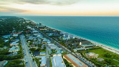 Vero Beach Stock Aerial - 44