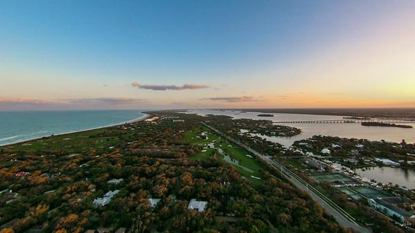 Vero Beach Stock Aerial - 02