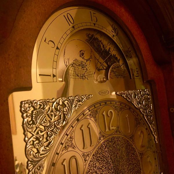 Pearl Grandfather Clock 2