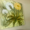 Original Lee Reinolds Dandelion Painting