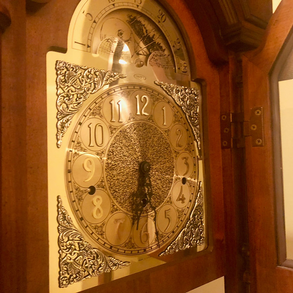 Pearl Grandfather Clock 3
