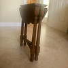 olid Wood Plant Stand-Utility Table