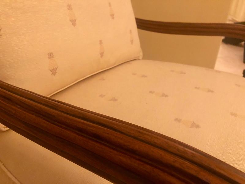 Parlor Chairs Flexsteel cushion detail