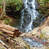 While hiking in the Smoky National Park, saw streams and small falls.