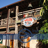 This very eclectic bar/restaurant, Waldo's is by the water. Notice--bells-there are more than 185 bells on the premises.