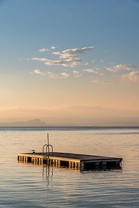 Floating Platform at Lake Garda
