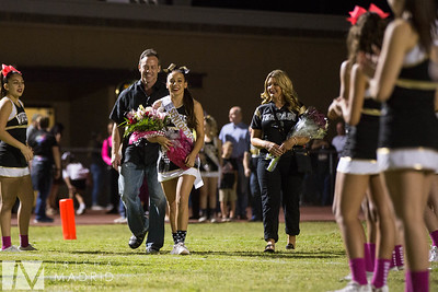 Football Pom Cheer Senior Night