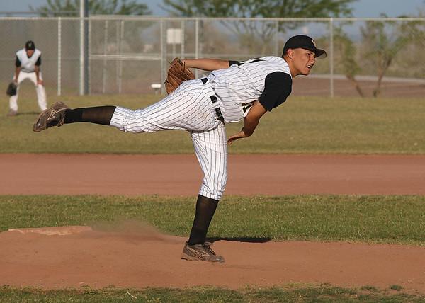Baseball Verrado Freshman vs DE 4/13/2010