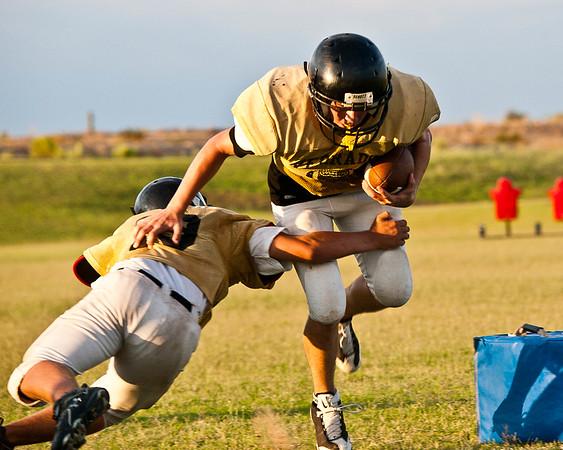Football Verrado Practice 8/16/2010