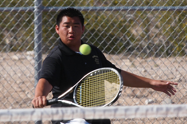 Tennis Verrado Boys vs Youngker 4/14/2011