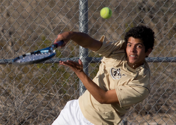 Tennis vs Desert Edge 3/7/2012