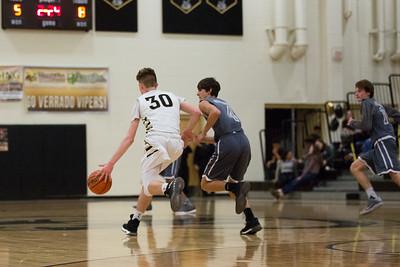 JV Boys Basketball - Travis H.