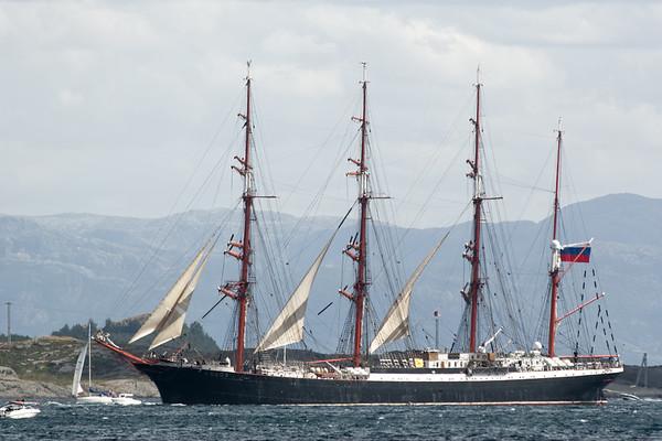 Die russische Sedof war das grösste Schiff.