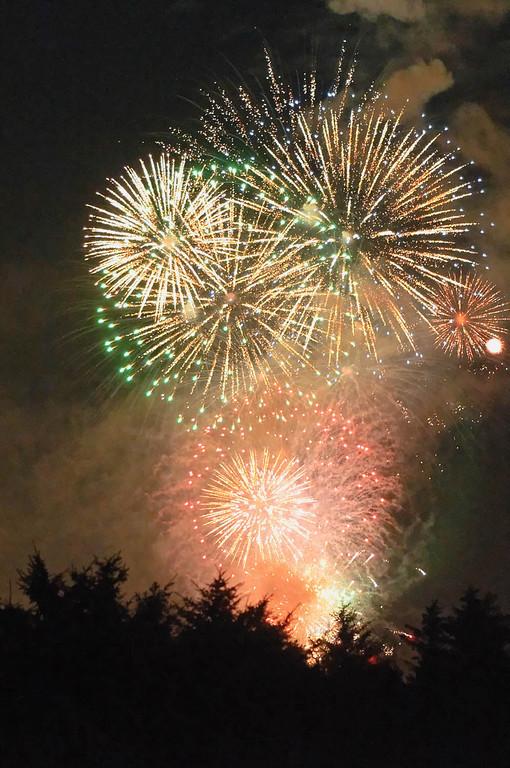 ...Feuerwerk.