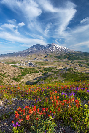 Mt. St. Helens Cloud Eruption