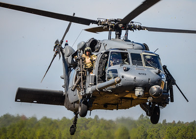 Mike Tosi, HH60G Pave Hawk, USAF