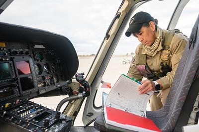 Dan Megna, AS350B3 AStar, CBP