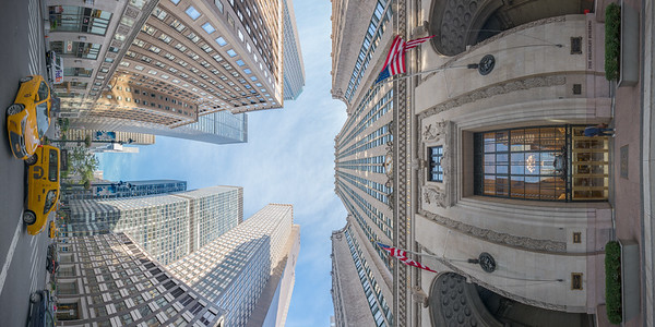 Helmsley Building and Park Avenue, Vertical Vertigo NYC Series