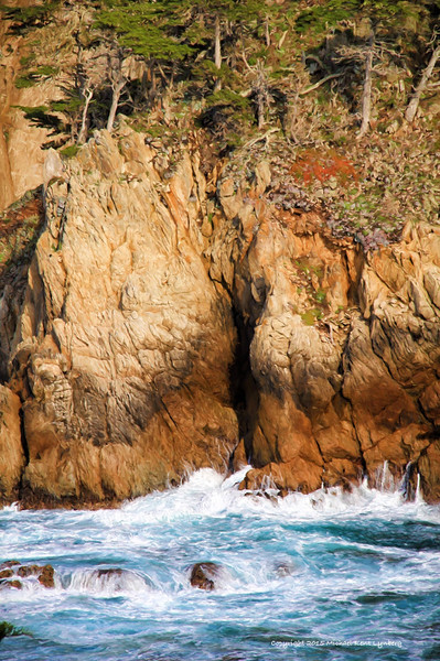 Point Lobos, Wall of Beauty