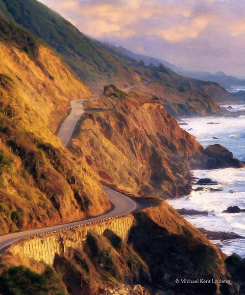 Ribbon of Road Big Sur