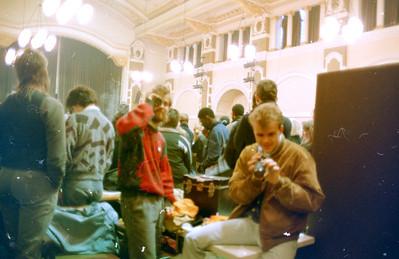 The Las - Live in West Ham 4th Dec 87