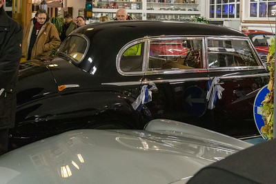 Mercedes-Benz 300 Adenauer, in Merks Motor Museum, Nürnberg