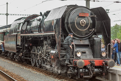 , Via steam train from Nuremberg, Germany, to Plzeň, a city in western Bohemia in the Czech Republic.