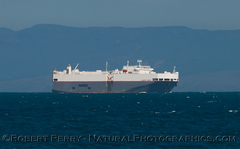 "Car carrier ""United Spirit."""