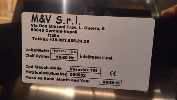 Vesuvius Information.