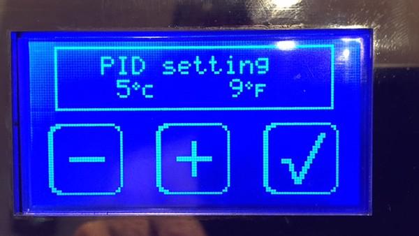 Default PID setting