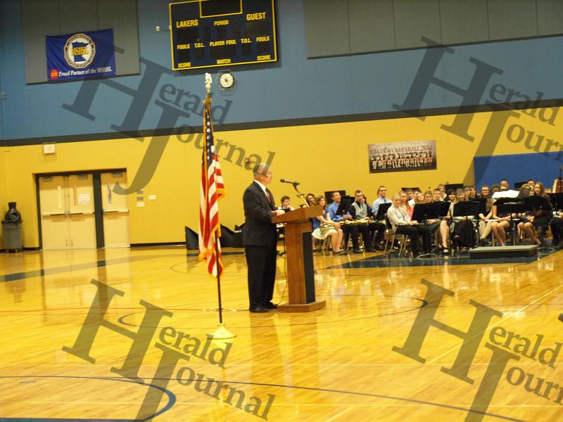 Howard Lake Veterans Day Program