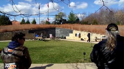 Taps at LZ Peace Memorial