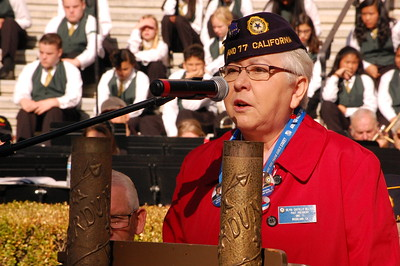 A Woodland city councilman and former U.S. Navy officer, Tom Stallard spoke in front of an audience of hundreds on Saturday, sharing his thoughts — and a little history — during a Veterans Day ceremony. Hosted by the American Legion, Yolo Post 77, the annual event took place in front of the historic Yolo County Courthouse.