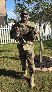 """Eric Forward, U.S. Army captain, husband to Allison Forward, who says: """"Eric is a hardworking man that supports our family and his country. I am so proud of all of his accomplishments."""""""
