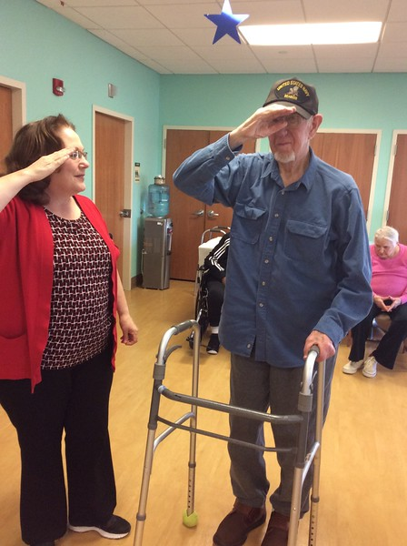 Veterans Day at the Jewish Home Family