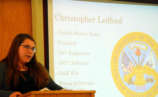 Veterans History Project - MHU Public History